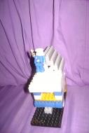 La casa de Santa Claus (azul)